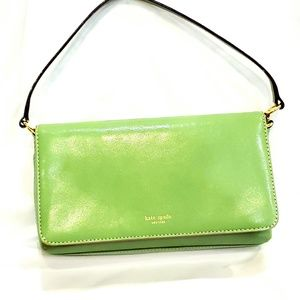 Authentic Lime Green Kate Spade Small Shoulder Bag